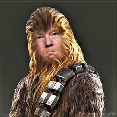 Chewbacca Trump