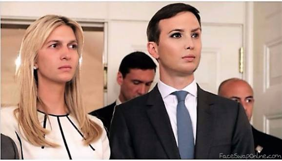 Ivanka Kushner & Jared Trump