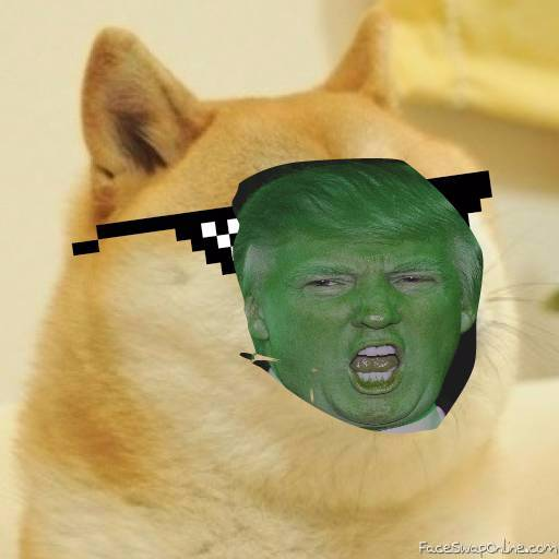 MYSTICAL GREEN TRUMPDOGE