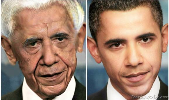 Old Obama Young Obama