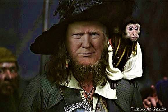 Pirate Trump