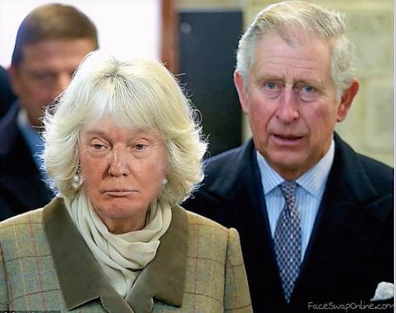 Royal Camilla Trump