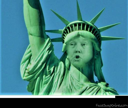 Statue of LiberTrump