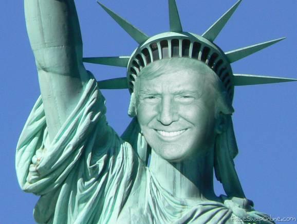 Statue of Trump