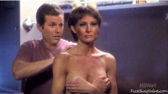 Trump jr and Melania