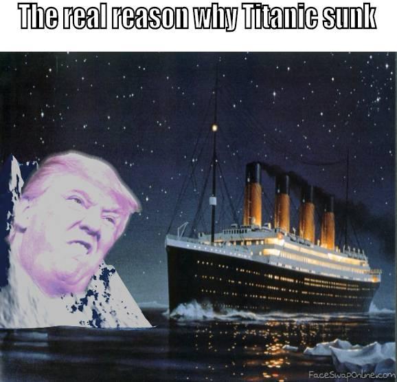 Trump the iceberg