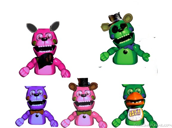 fnaf 1 hand puppets