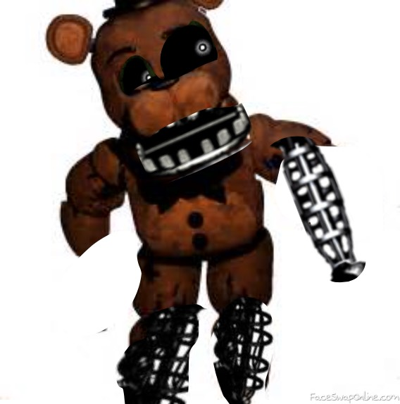 fnaf 2 Ignited Freddy