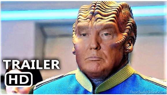 Alien version Trump