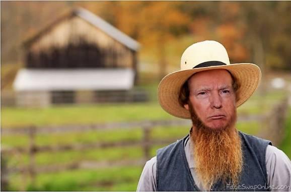 Amish Trump
