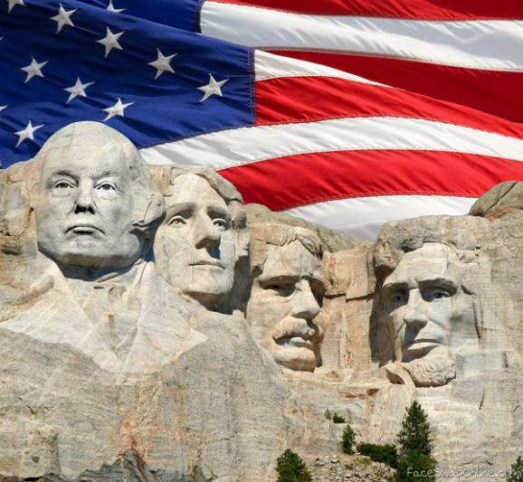 Make Rushmore great again