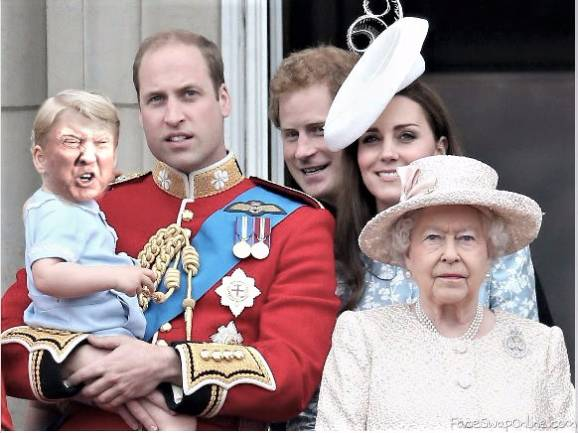 Royal Baby Trump