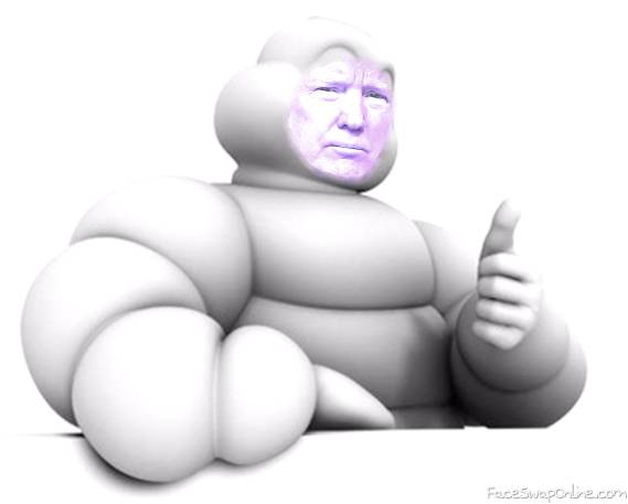 Trump Michelin Man