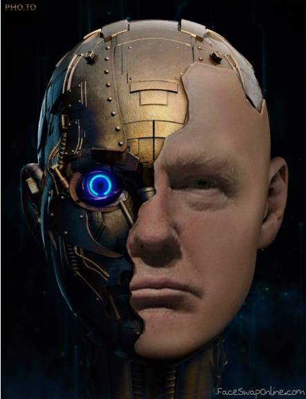 Turns out he´s an Android