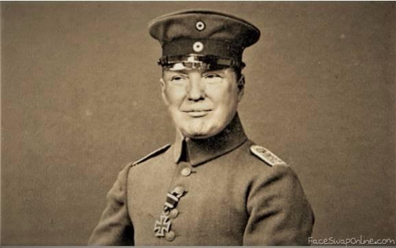 World War II Trump