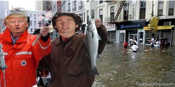 fishing trump