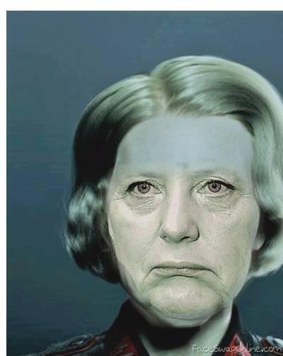 Frau Irene Merkel