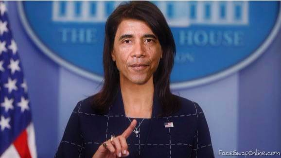 In a parallel Universe it´s Madam President Obama