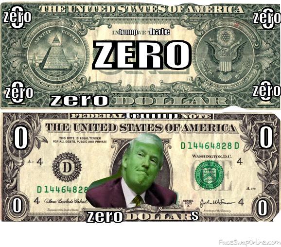 Trump's dollar