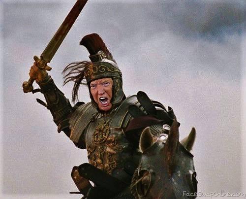 Trump the Warrior