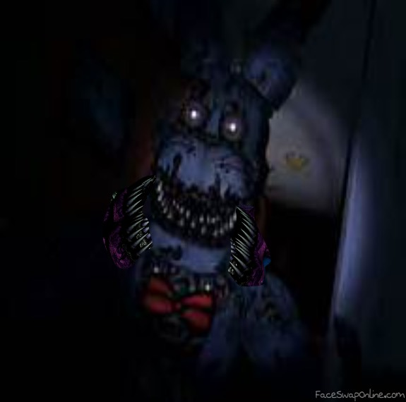 Twisted Bonnie in fnaf 4 | Face Swap Online