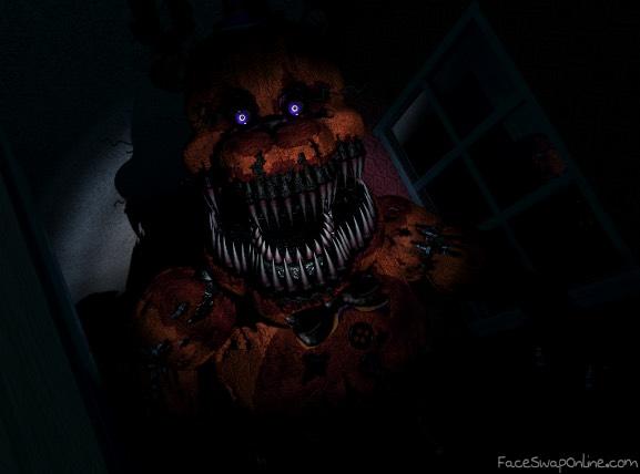 Twisted Freddy in fnaf 4