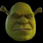 Eyes Closed Shrek
