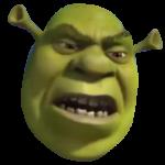 Disgusted Shrek