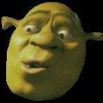 Fascinated Shrek