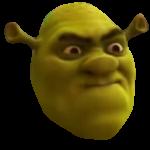 Shrek Going Mad