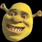 Innocent smile Shrek