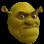 Irritated Shrek