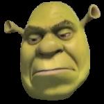 Sulking Shrek