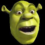 Positively Surprised Shrek