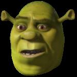 Worried Shrek