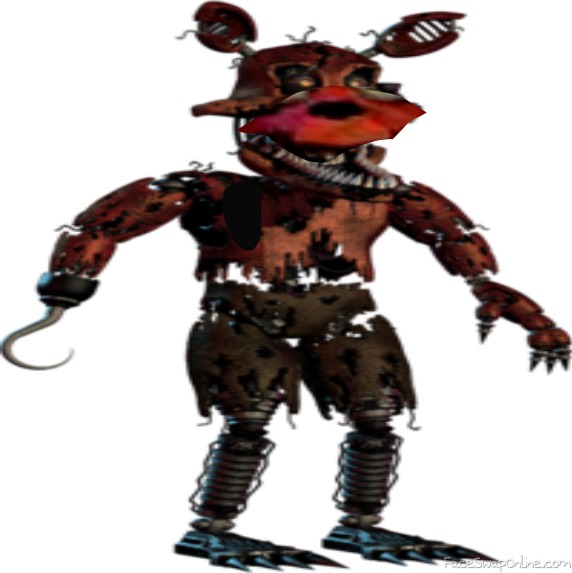 twisted foxy in fnaf 4