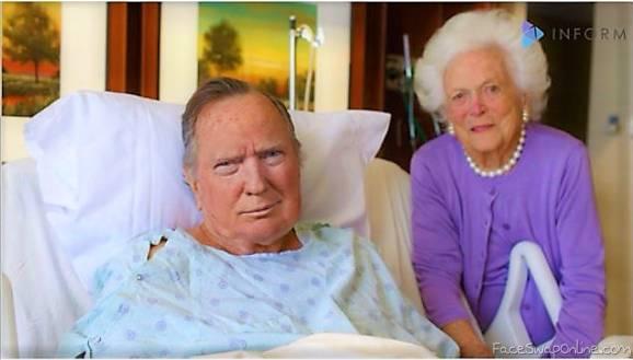 George H W Trump