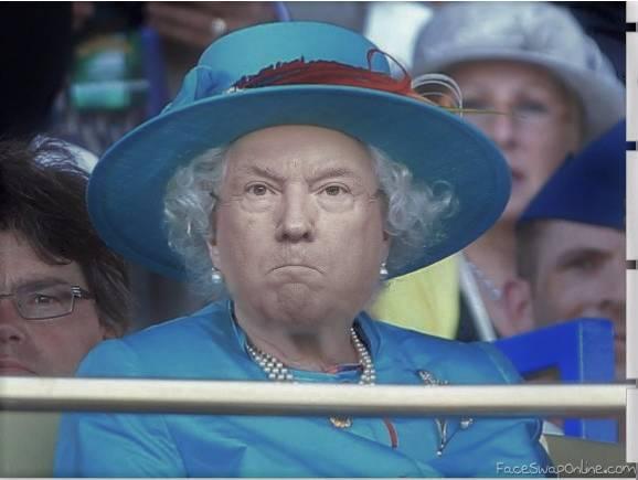 H.M Queen Trump