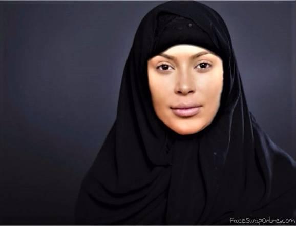Kardashian Hijab