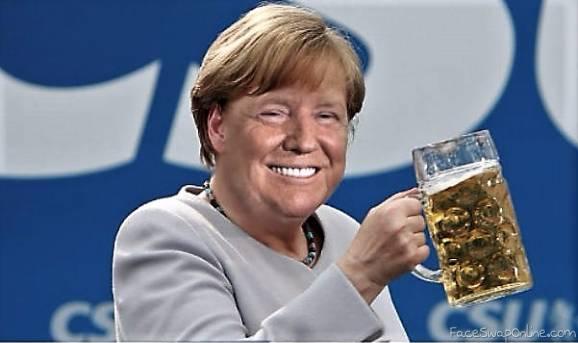 Trump cheers