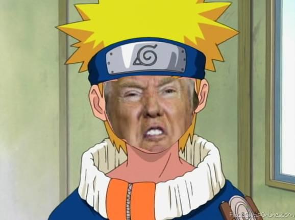 Naruto trump