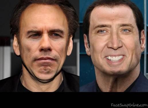 Nick Cage John Travolta ll