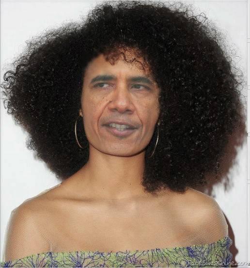 Drag obama