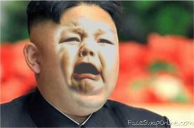 Kim Jong Un is sad. :P