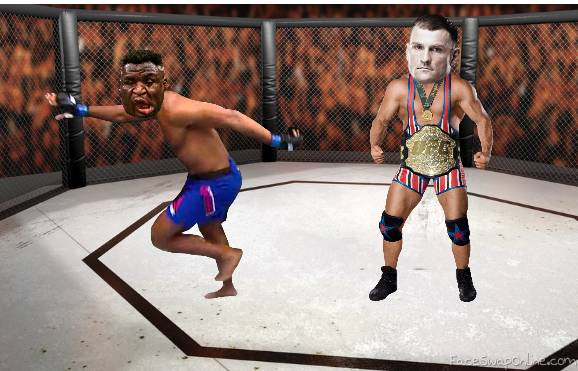 Stipe vs Ngannou