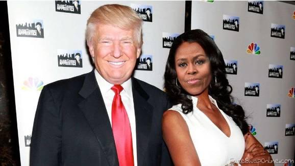 Trump and Michelle
