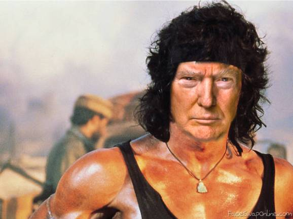 Trumpbo - They drew first blood !