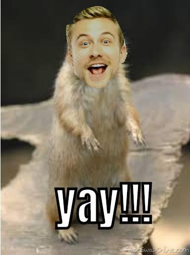 YAY hamster