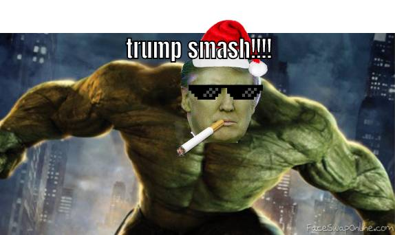 trump smash!