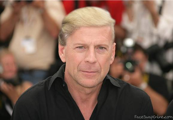 Bruce Willis buys Trump wig